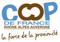 Logo de la COOP de France Région Rhône-Alpes Auvergne