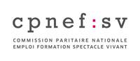 Logo de la CPNEF du spectacle vivant