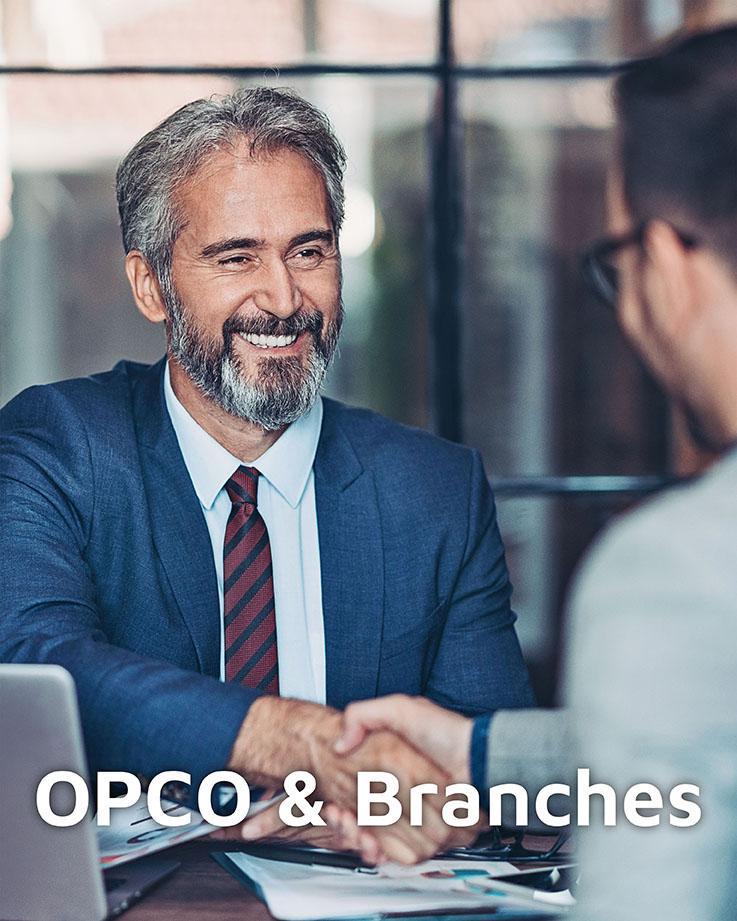 Photo représentant la cible OPCO & Branches